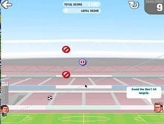 Sport Heads Football Shot Training