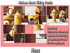 Minions Movie Sliding Puzzle