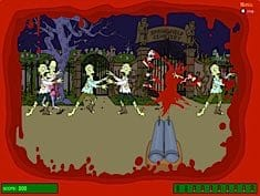 Simpsons Zombie Game
