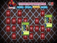 Spiderman Concentrartion