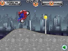Spiderman Motorbike