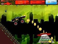 Super Hero Truck Race