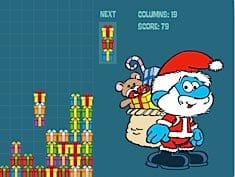 The Smurfs Christmas Columns