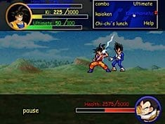 Goku vs Vegeta RPG