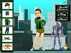 Ben 10 Mega Dress Up