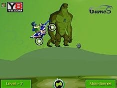 Ben 10 Motorcicle Race