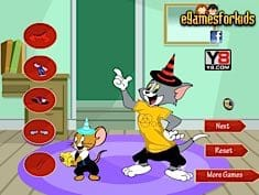 Tom and Jerry Dress Up