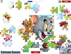 Tom and Jerry Jigsaw