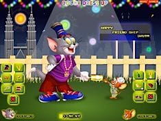 Tom and Jerry Dressup
