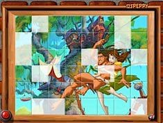 Sort My Tiles Tarzan and Mary Jane