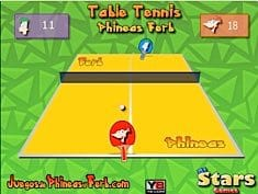 Table Tennis Phineas and Ferb