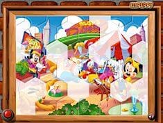 Sort My Tiles Mickey Toon Town