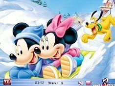 Mickey Love Hidden Stars