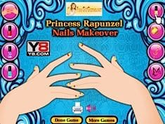 Princess Rapunzel Nails Makeover