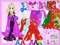 Shiney Princess Dress Up 3