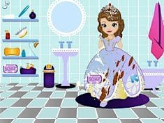 Sofia the First Messy