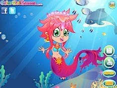 Cute Mermaid Princess