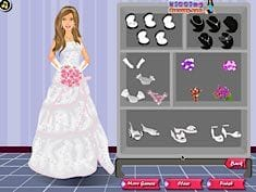Barbie Princess Wedding Dressup
