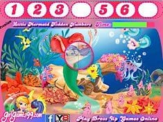 The Little Mermaid Hidden Numbers