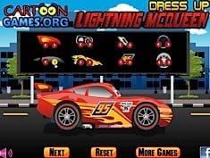 Dress Up Lightning McQueen
