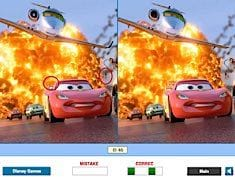 Disney Cars Find the Differences