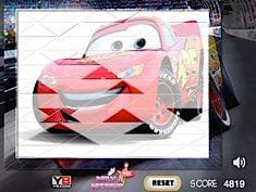 Lightning McQueen Sort My Tiles