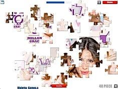 Puzzle With Violetta