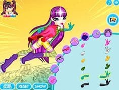 Bratz Action Heroez Roxxi Dress Up