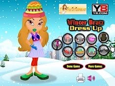 Winter Bratz Dress Up