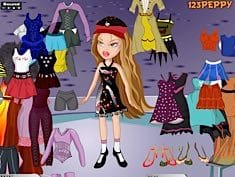 Yasmin Bratz Dress Up Game