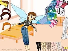 Tinkerbell Dress Up 5