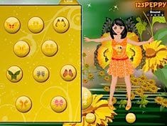 Sunflower Dress Up Game