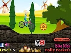 Bike Ride Polly Pocket's