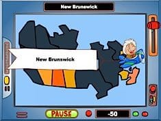 Geography Game Canada