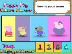 Peppa Pig Colours Memory