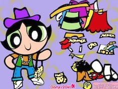 Dress Powerpuff Girl Buttercup