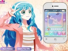 Glitter Force Phone Dress Up