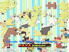Puzzle We Bare Bears Party