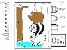 We Bare Bears Coloring Game