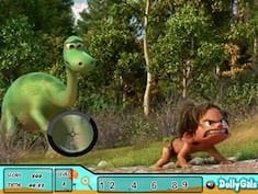 The Good Dinosaur Spot the Numbers