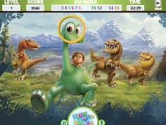 The Good Dinosaur Hidden Numbers