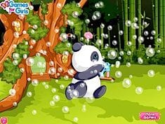 Pet Stars Playful Panda