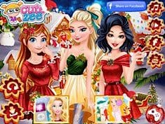 Princesses In Christmasland