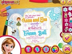 Princesses Arendelle Ball