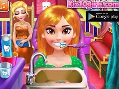 Princess Dentist and Party Make Up