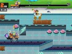 SPONGEBOB SQUAREPANTS LOST TREASURES online game   POMU Games