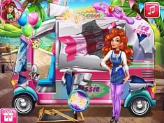 Girls Fix It : Jessie's Ice Cream Truck
