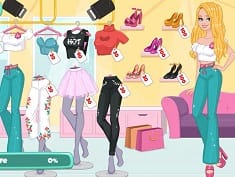 Girls Photo Shopping Dress-Up
