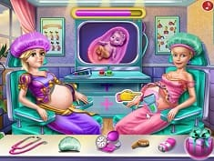 Goldie Princesses Pregnant Checkup