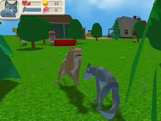 Wolf Simulator : Wild Animals 3D